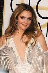 Drew Barrymore at the 74th Annual Golden Globe Awards.<br />(Beverly Hills, CA)