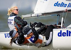 08_002668 © Sander van der Borch. Medemblik - The Netherlands,  May 24th 2008 . Day 4 of the Delta Lloyd Regatta 2008.