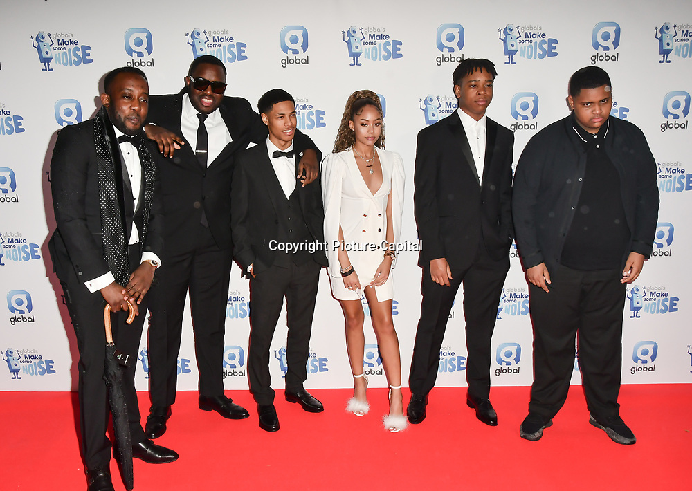 Da Beatfreakz arrivers at the Global's Make Some Noise Night at Finsbury Square Marquee on 20 November 2018, London, UK.