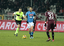 December 16, 2017 - Turin, Italy - Marek Hamsik during Serie A match between Torino v Napoli, in Turin, on December 16, 2017  (Credit Image: © Loris Roselli/NurPhoto via ZUMA Press)