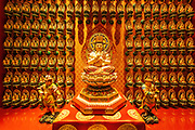 Sculptures in the Buddha Tooth Relic Temple and Museum, Singapore, Republic of Singapore