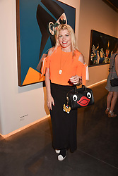 Meredith Ostrom at the launch of Unit London Mayfair and Ryan Hewett The Garden Preview, Hanover Square, London, England. 26 June 2018.