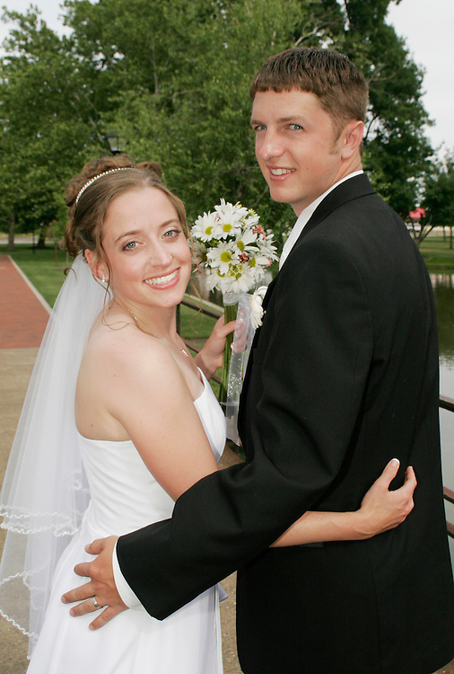 Bride and Groom from Wedding in Canton, Ohio Cleveland Wedding Photography