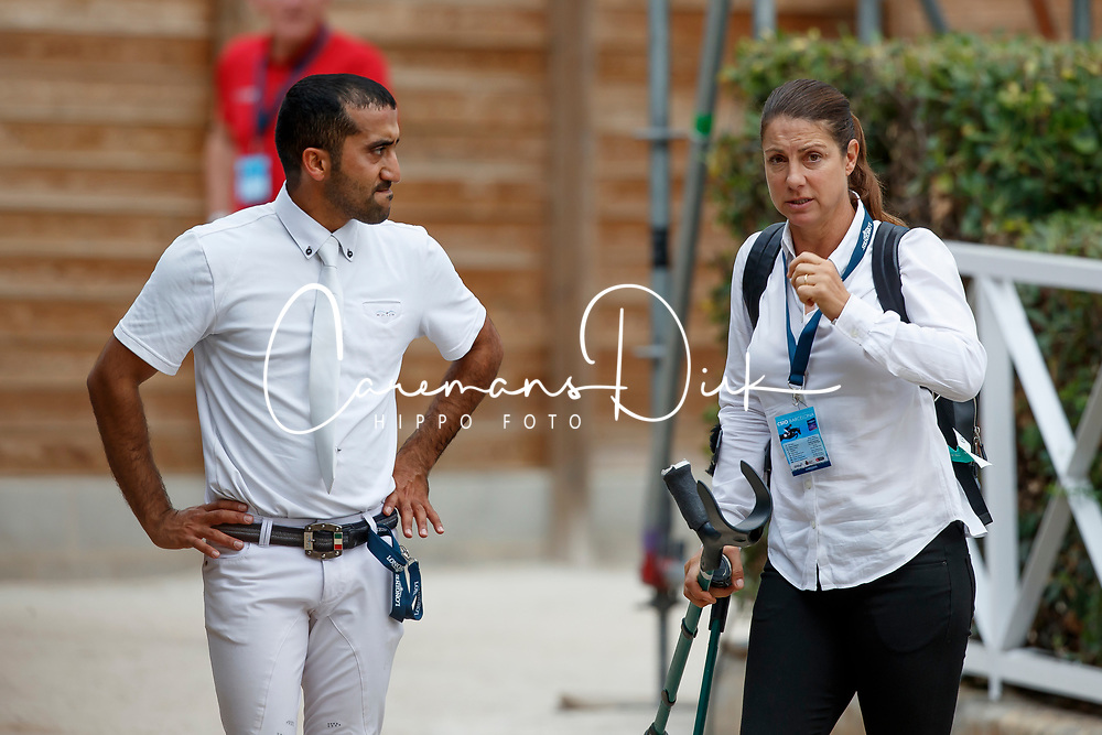 Al Marri Abdullah Mohd, UAE<br /> CSIO Barcelona 2017<br /> © Dirk Caremans<br /> 28/09/2017