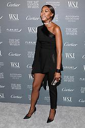 Model Naomi Campbell attends the WSJ. Magazine 2017 Innovator Awards at MOMA in New York, NY, on November 1, 2017. (Photo by Anthony Behar/Sipa USA)