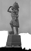 1964 - Cigar Store Indian statue