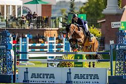 Mathy Francois Jr, BEL, Uno de La Roque<br /> Spruce Meadows Masters - Calgary 2019<br /> © Dirk Caremans<br />  04/09/2019
