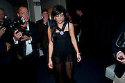 LILY ALLEN, The 2009 GQ Men Of The Year Awards at The Royal Opera House. Covent Garden.  8 September 2009.