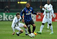 "Joel OBI (Inter)<br /> Milano 3/12/2011 Stadio ""Giuseppe Meazza""<br /> Serie A 2011/2012<br /> Football Calcio Inter Vs Udinese<br /> Foto Insidefoto Alessandro Sabattini"