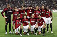 Fotball<br /> 18.09.2007<br /> Foto: Inside/Digitalsport<br /> NORWAY ONLY<br /> <br /> UEFA Champions League<br /> Milan v Benfica 2-0<br /> <br /> La formazione del Milan; Milan Team<br /> Up: Nelson Dida, MArek Jankulovski, Massimo Oddo, Kaka Kaladze, Massimo Ambrosini, Alessandro Nesta, Clarence Seedorf<br /> Bottom: Gennaro Gattuso, Andrea Pirlo, Ricardo Kaka, Filippo Inzaghi<br /> Lagbilde Milan