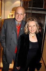 MR & MRS NAIM ATTALLAH at a party to celebrate the publication of 'Last Voyage of The Valentina' by Santa Montefiore at Asprey, 169 New Bond Street, London W1 on 12th April 2005.<br /><br />NON EXCLUSIVE - WORLD RIGHTS