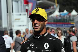 August 31, 2019, Spa Francorchamps, Belgio: xa9; Photo4 / LaPresse.31/08/2019 Spa Francorchamps, Belgio.Sport .Grand Prix Formula One Belgio 2019.In the pic: Daniel Ricciardo (AUS) Renault Sport F1 Team RS19 (Credit Image: © Photo4/Lapresse via ZUMA Press)