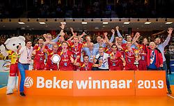 17-02-2019 NED: National Cupfinal Draisma Dynamo - Abiant Lycurgus, Zwolle<br /> Dynamo win the Cup 2018-2019