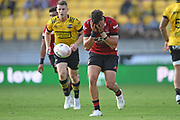 Crusaders David Havili reacts to a knock on in the Super Rugby match, Hurricanes v Crusaders, Sky Stadium, Wellington, Sunday, April 11, 2021. Copyright photo: Kerry Marshall / www.photosport.nz