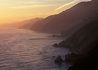 Sunset along the Big Sur Coast