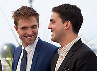 Robert Pattinson and Ben Safdie at the Good Time film photo call at the 70th Cannes Film Festival Thursday 25th May 2017, Cannes, France. Photo credit: Doreen Kennedy