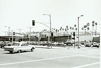 1973 Auto dealership at Sunset Blvd. & Gower St.