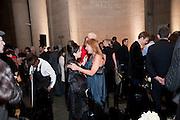 MAUREEN PALEY; TANYA BONAKDAR, , Turner Prize 2010. Tate Britain. Millbank. London. 6 December 2010. -DO NOT ARCHIVE-© Copyright Photograph by Dafydd Jones. 248 Clapham Rd. London SW9 0PZ. Tel 0207 820 0771. www.dafjones.com.