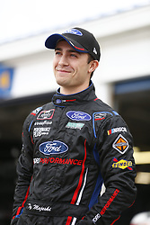 October 19, 2018 - Kansas City, Kansas, United States of America - Ty Majeski (60) hangs out in the garage during practice for the Kansas Lottery 300 at Kansas Speedway in Kansas City, Kansas. (Credit Image: © Justin R. Noe Asp Inc/ASP via ZUMA Wire)