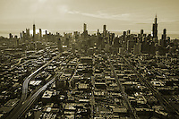 Chicago Skyline from Western End