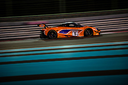December 15, 2018 - Abu Dhabi, UAE - Ben Barnicoat (GBR) Alvaro Parente (PRT) Shane Van Gisbergen of 5 Mclaren Customer Racing Mclaren 720S GT3 PRO during   Gulf 12 Hours Endurance Race 2018 at Yas Marina Circuit. (Credit Image: © Panoramic via ZUMA Press)