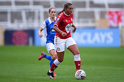 Abi Harrison of Bristol City Women - Mandatory by-line: Ryan Hiscott/JMP - 18/10/2020 - FOOTBALL - Twerton Park - Bath, England - Bristol City Women v Birmingham City Women - Barclays FA Women's Super League
