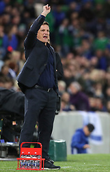 Israel manager Andy Herzog gestures on the touchline during the International Friendly at Windsor Park, Belfast PRESS ASSOCIATION Photo. Picture date: Tuesday September 11, 2018. See PA story SOCCER N Ireland. Photo credit should read: Liam McBurney/PA Wire. during the International Friendly at Windsor Park, Belfast PRESS ASSOCIATION Photo. Picture date: Tuesday September 11, 2018. See PA story SOCCER N Ireland. Photo credit should read: Liam McBurney/PA Wire