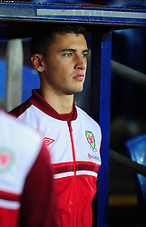 Wales James Wilson (Bristol City) - Photo mandatory by-line: Joe Meredith/JMP  - Tel: Mobile:07966 386802 12/10/2012 - Wales v Scotland - SPORT - FOOTBALL - World Cup Qualifier -  Cardiff   - Cardiff City Stadium -