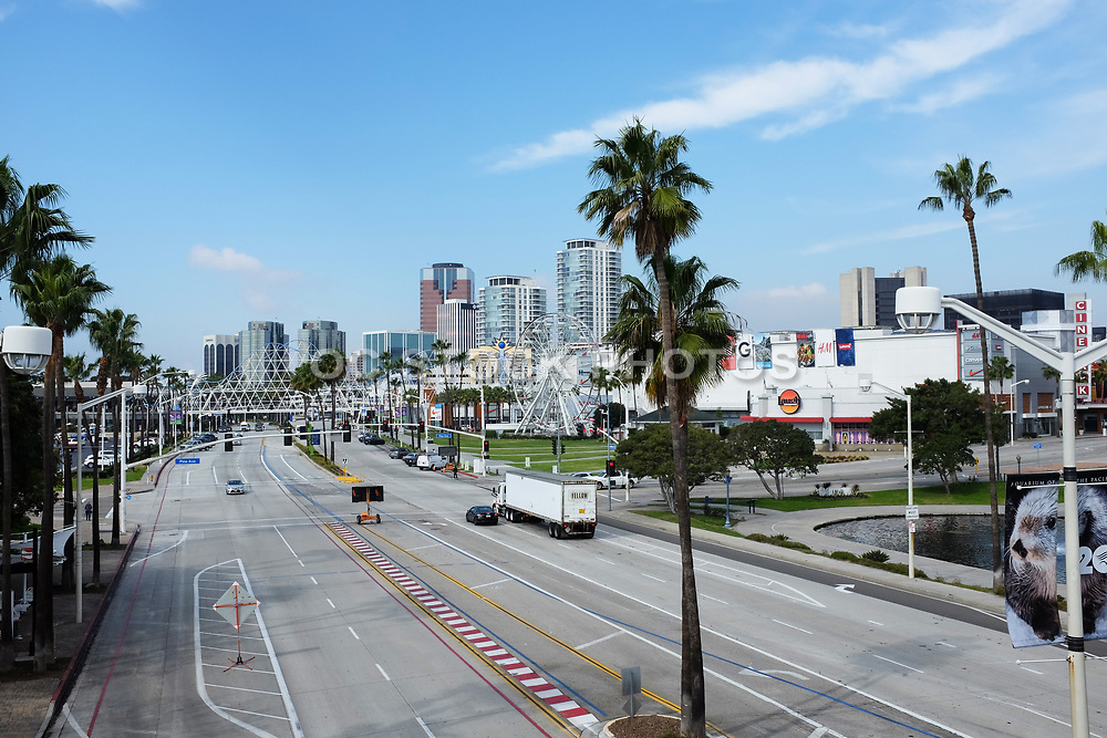 Shoreline Drive Long Beach, Part of the Toyota Grand Prix Auto Race Course