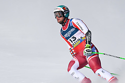 15.02.2021, Cortina, ITA, FIS Weltmeisterschaften Ski Alpin, Alpine Kombination, Herren, Super G, im Bild Vincent Kriechmayr (AUT) // Vincent Kriechmayr of Austria reacts after the Super G competition for the men's alpine combined of FIS Alpine Ski World Championships 2021 in Cortina, Italy on 2021/02/15. EXPA Pictures © 2021, PhotoCredit: EXPA/ Erich Spiess