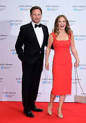 Christian Horner and Geri Horner attending the End the Silence Charity Fundraiser at Abbey Road Studios, London.