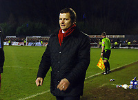 Fotball<br /> England<br /> Foto: Colorsport/Digitalsport<br /> NORWAY ONLY<br /> <br /> Mark Cooper (Kettering Manager), Kettering Town Eastwood Town FA Cup 3rd rd. 3/1/2009