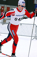 Junior NM nordiske grener 2004, Granåsen, Trondheim, Tomas Moen, Sør-Fron<br /><br />Foto: Carl-Erik Eriksson, Digitalsport