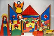 Nederland, Heilig Landstichting, 18-12-2013Museumpark Orientalis bij Nijmegen. Jaarlijks wordt rond kerstmis een grote tentoonstelling gehouden met kerststalletjes, kerststallen, uit alle windstreken uit de collectie Elizabeth Houtzager. Voorheen heette dit het Bijbels Openluchtmuseum, maar zes jaar geleden trok de katholieke kerk zich terug als geldschieter voor het museum omdat de toenmalige directie ook aandacht wilde besteden aan andere godsdiensten, met name de Islam. Hiervoor werd een arabisch dorp gebouwd met een moskee.Het museum wordt is zijn bestaan bedreigd door geldgebrek en een chronisch exploitatietekort. Foto: Flip Franssen
