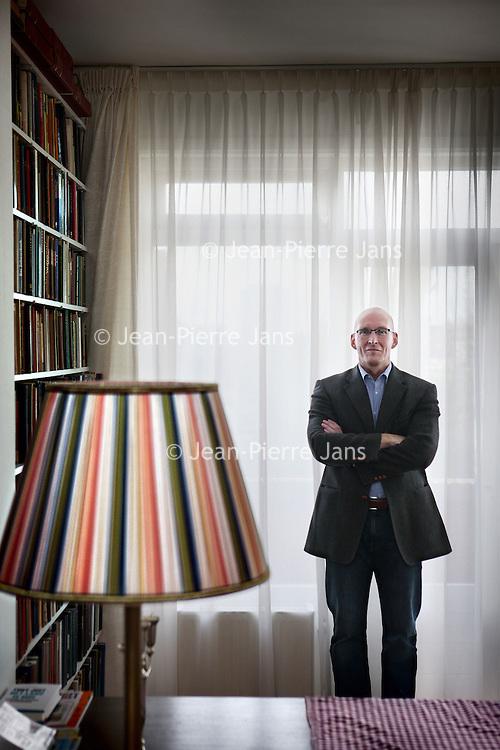 Nederland, Den Haag , 10 november 2010..Andreas A.M. Kinneging (Eindhoven, 26 februari 1962) is hoogleraar rechtsfilosofie aan de Universiteit Leiden en een van Nederlands prominentste conservatieven..Andrea Kinneging is a professor of legal philosophy at Leiden University and one of Dutch prominent conservatives.