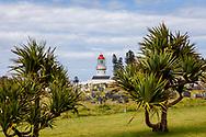 06-11-2017 Foto's genomen tijdens een persreis naar Buffalo City, een gemeente binnen de Zuid-Afrikaanse provincie Oost-Kaap. West Bank Golf Club - Vuurtoren met kerkhof