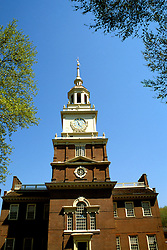 Pennsylvania: Philadelphia, Independence Hall at Independence Park, Photo: philad105  .Photo copyright Lee Foster, www.fostertravel.com, 510/549-2202, lee@fostertravel.com