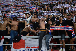 June 13, 2017 - Bangkok, Bangkok, Thailand - Thai fans during the FIFA World Cup 2018 qualifying soccer match between Thailand and the United Arab Emirates at the Rajamangala stadium in Bangkok, Thailand, 13 June 2017. (Credit Image: © Anusak Laowilas/NurPhoto via ZUMA Press)
