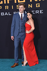 Wesley Wong at the 'Pacific Rim Uprising' Global Premiere event at Chinese Theatre on March 21, 2018 in Hollywood, CA. 21 Mar 2018 Pictured: Levi Meaden and Ariel Winter. Photo credit: O'Connor/AFF-USA.com / MEGA TheMegaAgency.com +1 888 505 6342
