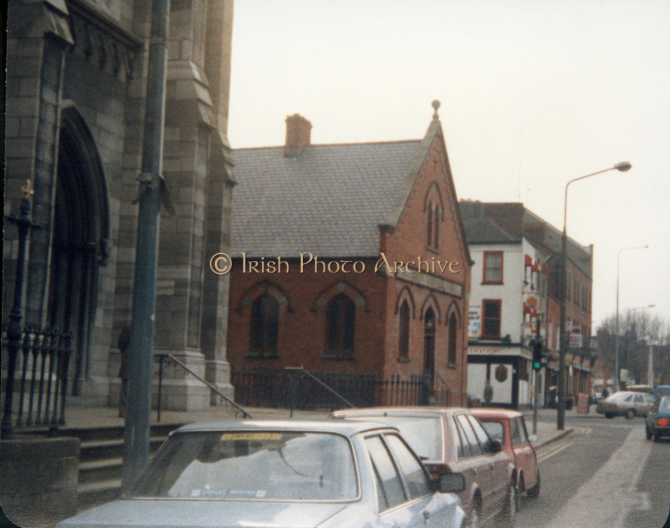 Old Dublin Amature Photos May 1987 WITH, Old Shop, Kilmainham, Inchicore Post Office, James St, Church, Parlement St, Drumcondra Park Old Shop, Volta Cinema 1940s Old amateur photos of Dublin streets churches, cars, lanes, roads, shops schools, hospitals