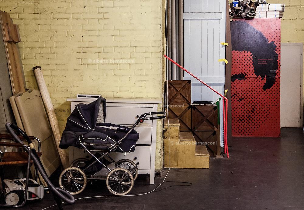 Switzerland, Zurich: artist atelier