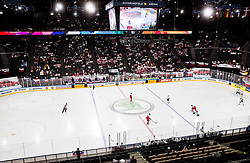 Arena during the 2017 IIHF Men's World Championship group B Ice hockey match between National Teams of Czech Republic and Slovenia, on May 12, 2017 in AccorHotels Arena in Paris, France. Photo by Vid Ponikvar / Sportida