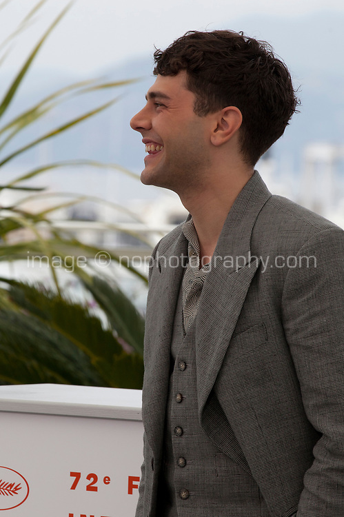 Director Xavier Dolan at Matthias & Maxime film photo call at the 72nd Cannes Film Festival, Thursday 23rd May 2019, Cannes, France. Photo credit: Doreen Kennedy