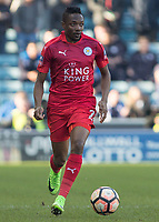 Football - 2016 / 2017 FA Cup - Fifth Round: Millwall vs. Leicester City <br /> <br /> Ahmed Musa of Leicester City at The Den<br /> <br /> COLORSPORT/DANIEL BEARHAM