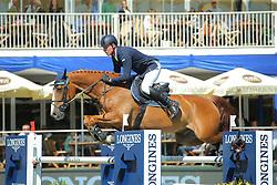 Stevens Mario, (GER), Brooklyn 17<br /> Longines Global Champions Tour - Grand Prix of Hamburg<br /> Hamburg - Hamburger Derby 2016<br /> © Hippo Foto - Stefan Lafrentz