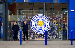 A general view of the Leicester City merchandise store prior to the Premier League match at the King Power Stadium, Leicester.