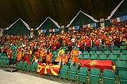 DESCRIZIONE : Poznan Poland Polonia Eurobasket Men 2009 Preliminary Round Repubblica di Macedonia Grecia F.R.Y. of Macedonia Greece<br /> GIOCATORE : Tifosi Supporters Fans F.R.Y. of Macedonia<br /> SQUADRA : Repubblica di Macedonia F.R.Y. of Macedonia<br /> EVENTO : Eurobasket Men 2009<br /> GARA : Repubblica di Macedonia Grecia F.R.Y. of Macedonia Greece<br /> DATA : 07/09/2009 <br /> CATEGORIA : tifosi supporters fans<br /> SPORT : Pallacanestro <br /> AUTORE : Agenzia Ciamillo-Castoria/A.Vlachos<br /> Galleria : Eurobasket Men 2009 <br /> Fotonotizia : Poznan Poland Polonia Eurobasket Men 2009 Preliminary Round Repubblica di Macedonia Grecia F.R.Y. of Macedonia Greece<br /> Predefinita :