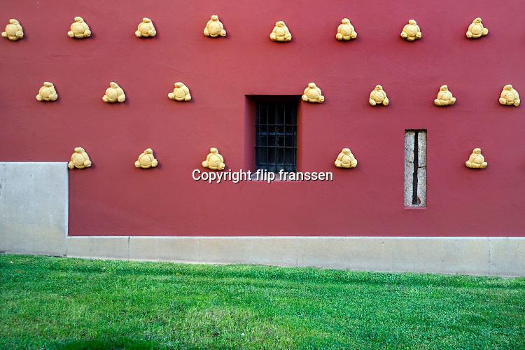 Spanje, Catalonie, Figueres, 12-11-2019Het dali theater, museum in zijn geboorteplaats .Foto: Flip Franssen