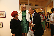 POLLY MORLAND, GWENDOLINE CHRISTIE AND RICHARD HUDSON, Opening of Photo-London, Burlington Gdns. London. 17 May 2006. ONE TIME USE ONLY - DO NOT ARCHIVE  © Copyright Photograph by Dafydd Jones 66 Stockwell Park Rd. London SW9 0DA Tel 020 7733 0108 www.dafjones.com