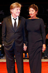 September 1, 2017 - Venice, Venetien, Italy - Robert Redford and wife Sibylle Szaggars attending the 'Our Souls at Night' premiere at the 74th Venice International Film Festival at the Palazzo del Cinema on September 01, 2017  in Venice, Italy (Credit Image: © Future-Image via ZUMA Press)